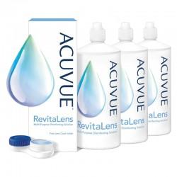 Płyn ACUVUE™ RevitaLens 3 x 100 ml - wyprzedaż