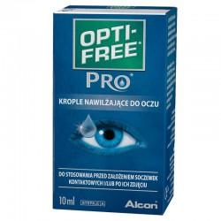 OPTI-FREE PRO krople nawilżające do oczu 10ml - (niebieskie)