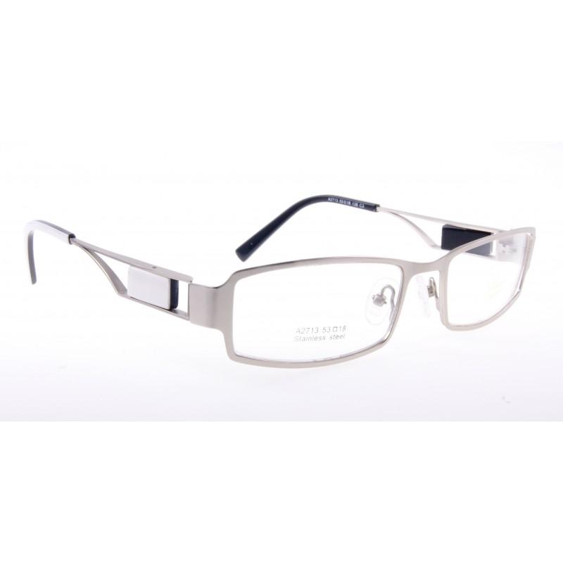 d05d230ecae923 Oprawki okularowe Ricco - srebrno-białe | Sklep internetowy ...