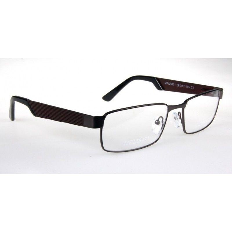 74645c8b470374 Oprawki okularowe Lorenzo - męskie - koloru gun | Sklep internetowy ...