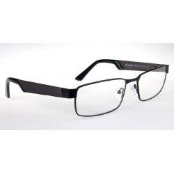 Oprawki okularowe Ricco A2713 c3 srebrno-białe