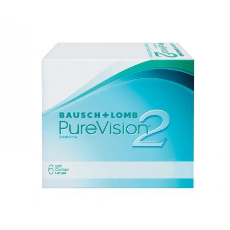 Zestaw - soczewki PureVision 2 6szt. + evo2lution 360 ml
