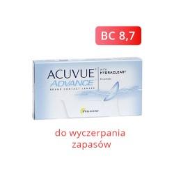 Acuvue Advance 6 szt. BC 8,7