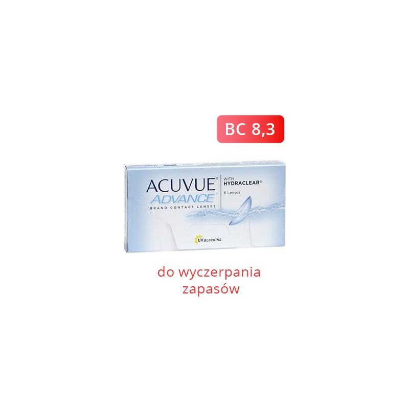Acuvue Advance 6 szt.  BC 8.3