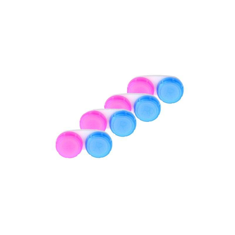 Zestaw - 4 antybakteryjne pojemniki na soczewki
