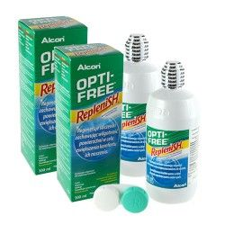 Zestaw - Opti-Free Replenish 300ml x 2