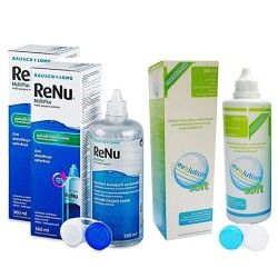 ReNu MultiPlus 2 x 360 ml + evO2lution soft 360 ml za grosz