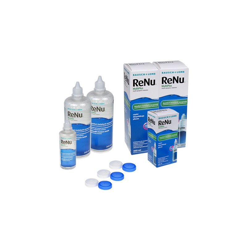 ReNu MultiPlus 2 x 360 ml + 120 ml