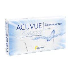 Soczewki kontaktowe Acuvue Oasys 6 sztuk