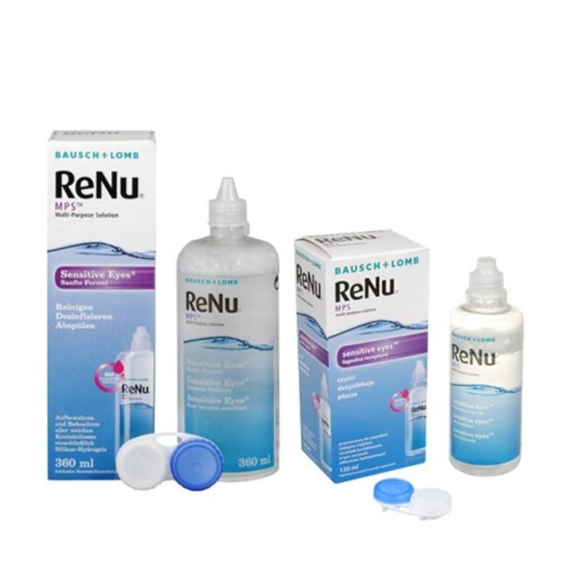 Zestaw- płyn ReNu MPS 360 ml + 120 ml