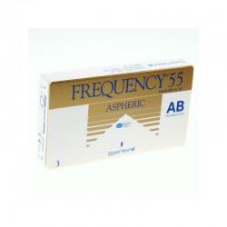 Frequency 55 aspheric 3 szt. - wyprzedaż