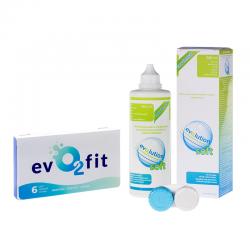 evO2fit 6 szt. + płyn evO2lution soft 360 ml