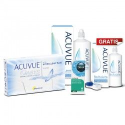 ACUVUE® OASYS 6 szt. + ACUVUE™ RevitaLens 360 ml + blink contacts® + gratis ACUVUE™ RevitaLens 100 ml