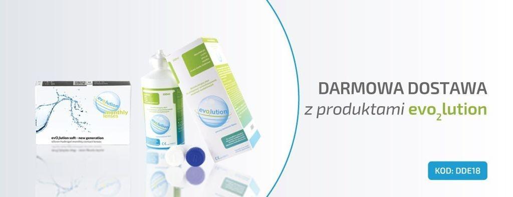 Oferta specjalna - darmowa dostawa z produktami evo2lution