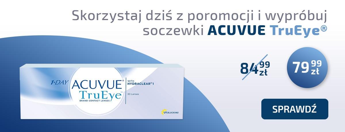 Soczewki kontaktowe ACUVUE TruEye 30 szt.